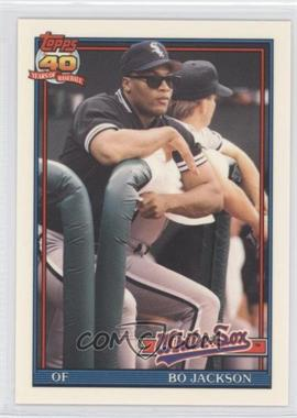 1991 Topps Traded Box Set [Base] Collector's Edition (Tiffany) #58T - Bo Jackson