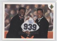 Stolen Base Leaders (Lou Brock, Rickey Henderson)