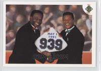 Stolen Base Leaders (Lou Brock, Rickey Henderson)
