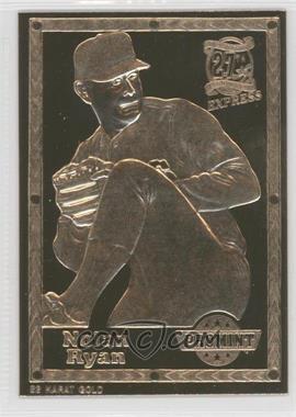 1992-93 ProMint 22K Gold - [Base] #3 - Nolan Ryan