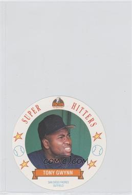 1992 Ben's Bread Super Hitters Discs #15 - Tony Gwynn