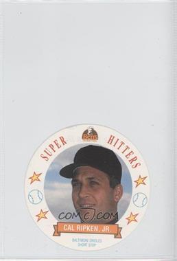 1992 Ben's Bread Super Hitters Discs #6 - Cal Ripken Jr.