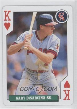 1992 Bicycle Baseball Rookies Playing Cards - Box Set [Base] #KH - Gary DiSarcina