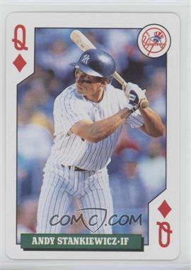 1992 Bicycle Baseball Rookies Playing Cards - Box Set [Base] #QD - Andy Stankiewicz