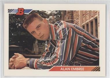 1992 Bowman - [Base] #387 - Alan Embree