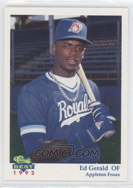 1992 Classic Best Appleton Foxes #25 - Ed Gerald