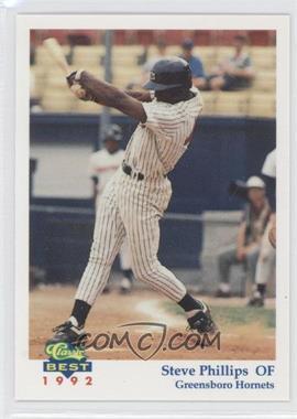 1992 Classic Best Greensboro Hornets #12 - Steve Phillips