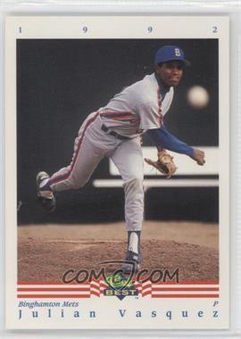 1992 Classic Best Minor League #27 - Julio Valera