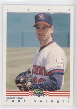 1992 Classic Best Minor League #339 - Paul Swingle