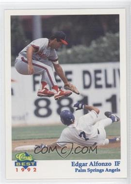 1992 Classic Best Palm Springs Angels - [Base] #23 - Ed Alfonzo