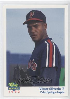 1992 Classic Best Palm Springs Angels - [Base] #5 - Victor Silverio