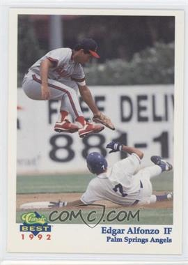 1992 Classic Best Palm Springs Angels #23 - Ed Alfonzo