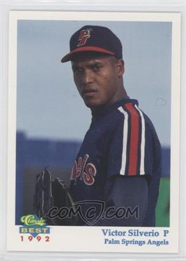 1992 Classic Best Palm Springs Angels #5 - Victor Silverio