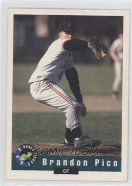 1992 Classic Draft Picks #107 - Brandon Pico
