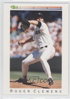 1992 Classic Update White Travel Edition - [Base] #T26 - Roger Clemens