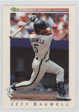 1992 Classic Update White Travel Edition - [Base] #T8 - Jeff Bagwell