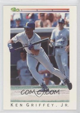1992 Classic Update White Travel Edition #T40 - Ken Griffey Jr.