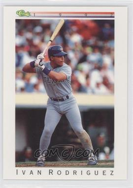 1992 Classic Update White Travel Edition #T77 - Ivan Rodriguez