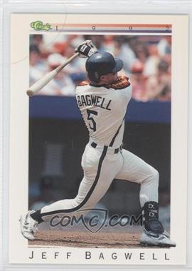 1992 Classic Update White Travel Edition #T8 - Jeff Bagwell