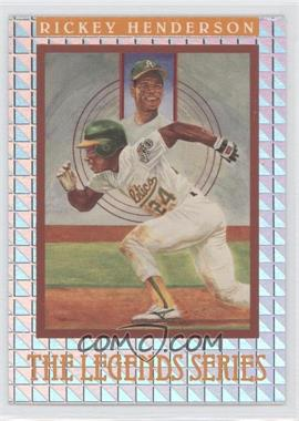 1992 Donruss The Elite Series #N/A - Rickey Henderson /7500
