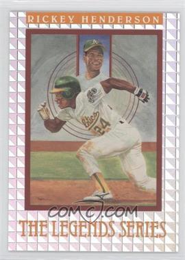 1992 Donruss The Elite Series #N/A - Rickey Henderson /7500