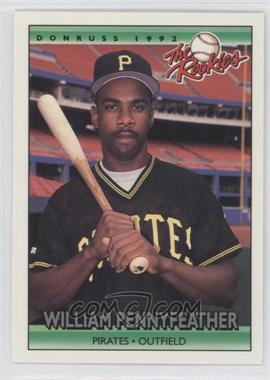 1992 Donruss The Rookies #93 - Will Pennyfeather