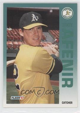 1992 Fleer - [Base] #248 - Troy Afenir
