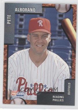 1992 Fleer ProCards Minor League - [Base] #585 - Julian Vasquez, Pete Alborano