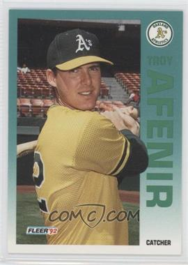 1992 Fleer #248 - Troy Afenir