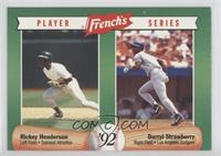 Rickey Henderson, Darryl Strawberry