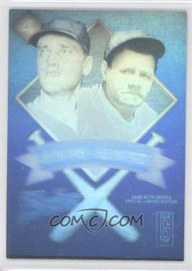 1992 Gold Entertainment The Babe Ruth Series Holograms #N/A - Babe Ruth