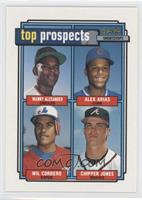 Manny Alexander, Alex Arias, Wil Cordero, Chipper Jones