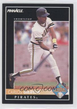 1992 Pinnacle - [Base] #264 - Carlos Garcia