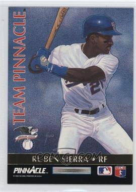 1992 Pinnacle - Team Pinnacle #10 - Ruben Sierra, David Justice