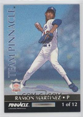 1992 Pinnacle [???] #1 - Ramon Martinez, Roger Clemens