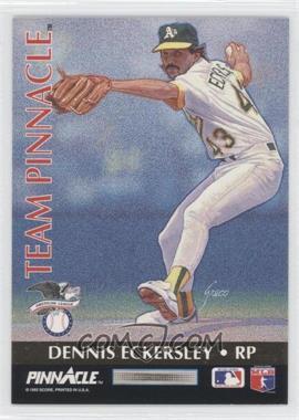 1992 Pinnacle [???] #11 - Dennis Eckersley, Rob Dibble