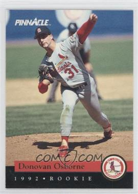 1992 Pinnacle Rookies - Box Set [Base] #20 - Donovan Osborne