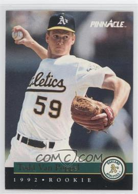 1992 Pinnacle Rookies Box Set [Base] #12 - Todd Van Poppel