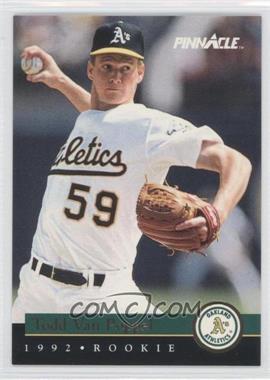 1992 Pinnacle Rookies Box Set [Base] #12 - Todd Van Poppel