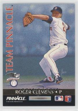 1992 Pinnacle Team Pinnacle #1 - Ramon Martinez, Roger Clemens
