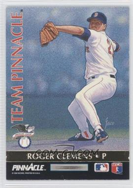 1992 Pinnacle Team Pinnacle #1 - Ramon Martinez, Roger Clemens