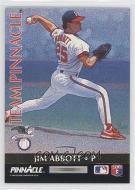 1992 Pinnacle Team Pinnacle #2 - Jim Abbott, Steve Avery