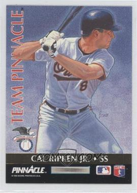 1992 Pinnacle Team Pinnacle #7 - Cal Ripken Jr., Barry Larkin