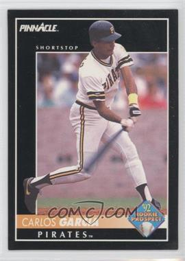 1992 Pinnacle #264 - Carlos Garcia