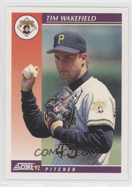 1992 Score Rookie & Traded - [Base] #92T - Tim Wakefield