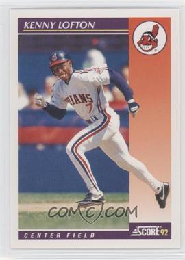 1992 Score Rookie & Traded #14T - Kenny Lofton