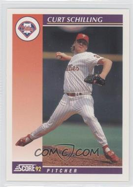 1992 Score Rookie & Traded #25T - Curt Schilling