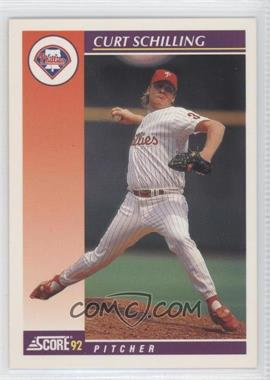 1992 Score Rookie & Traded #25T - Curt Schilling