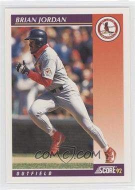1992 Score Rookie & Traded #83T - Brian Jordan