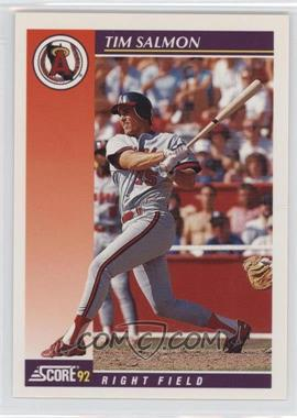 1992 Score Rookie & Traded #93T - Tim Salmon
